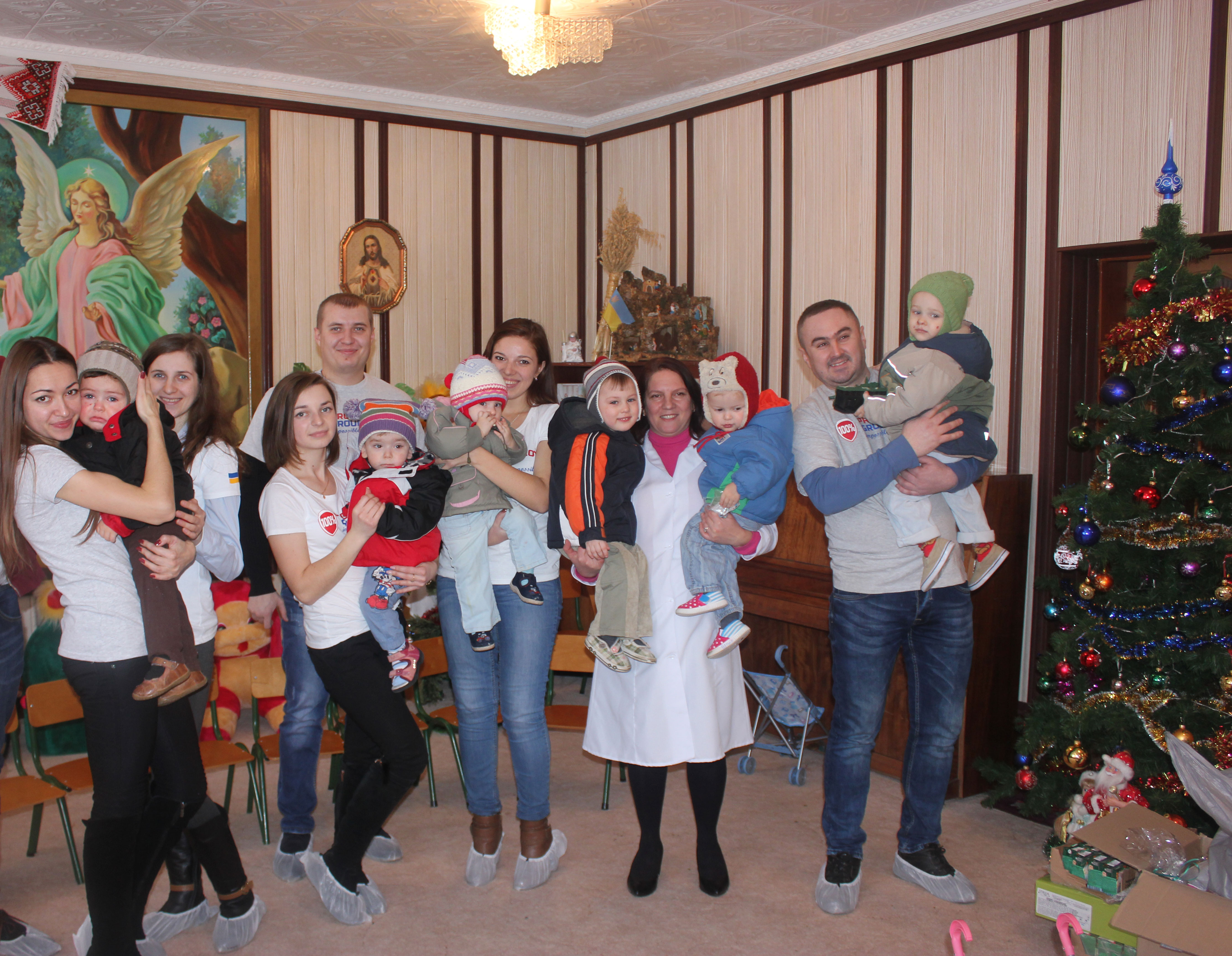 "Saint Nicholas Day in ""Maliatko"" (Eng. 'Baby') orpahnage"
